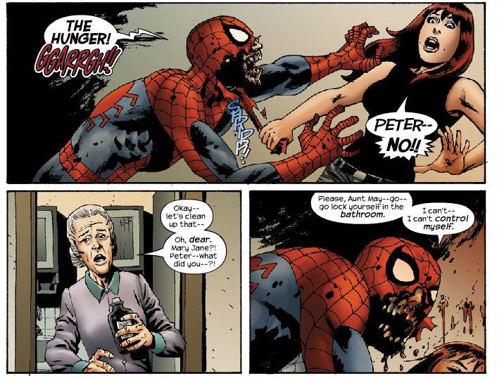 Peter devorando Mary Jane